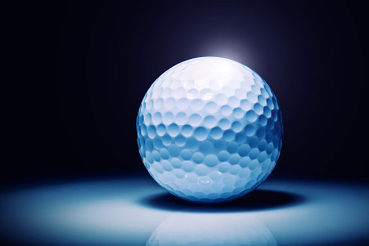 Golf Takes Balls | ADS | Chad Brooks | Automotive marketing