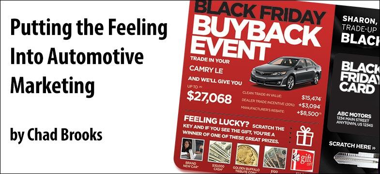 Putting the Feeling Into Automotive Marketing | ADS | Chad Brooks