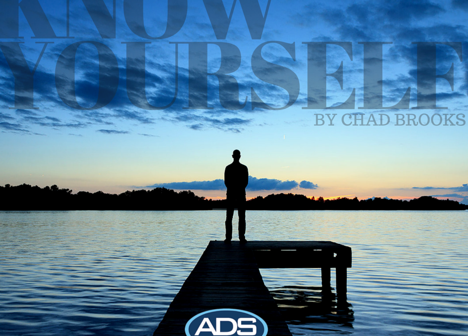 ADS | Know Yourself by Chad Brooks