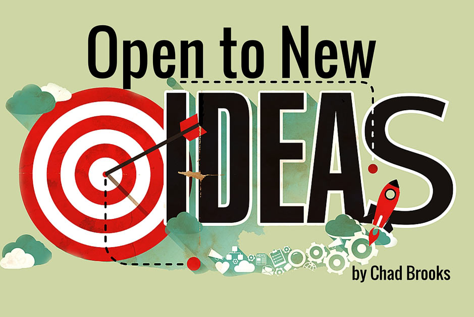 Open To New Ideas | by Chad Brooks | ADS