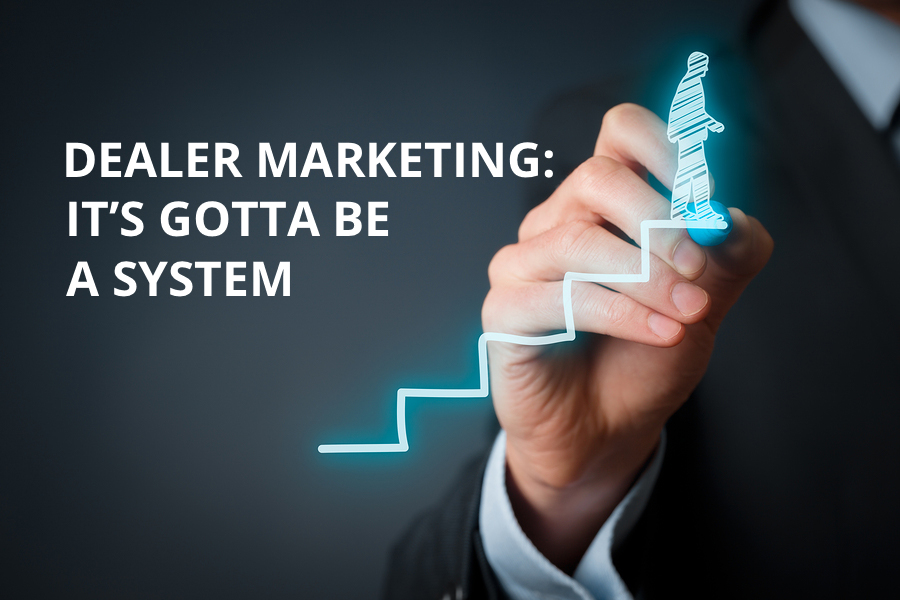 Dealer Marketing: It's Gotta be a System