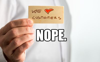 The Customer Is Wrong, But It Doesn't Matter