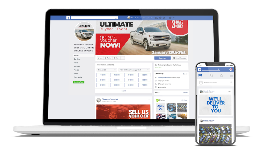 dealers sell more cars on Facebook