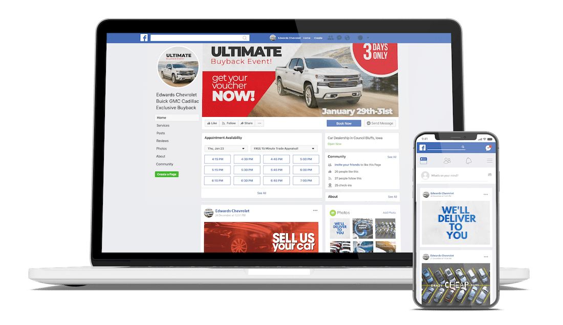 5 Free Facebook Ad Templates for Auto Dealers