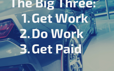 The Big Three: Get Work, Do Work, Get Paid